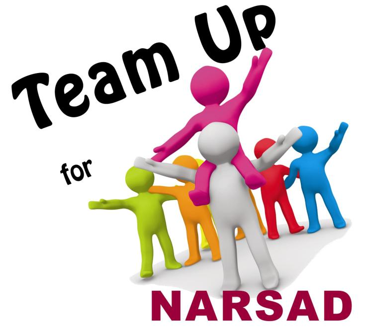 Team Up for NARSAD and hold your own fundraising event to benefit NARSAD