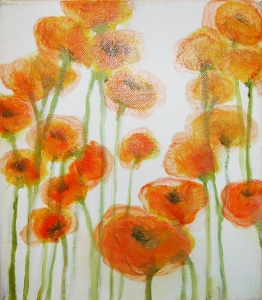 Poppies by Doris Dahlgren