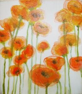 Poppies by Doris Dahlgren